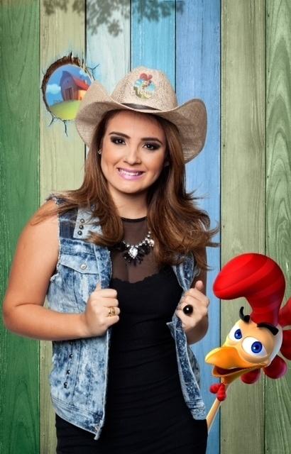 """14.set.2014 - A cantora MC Bruninha na estreia de """"A Fazenda 7"""""""
