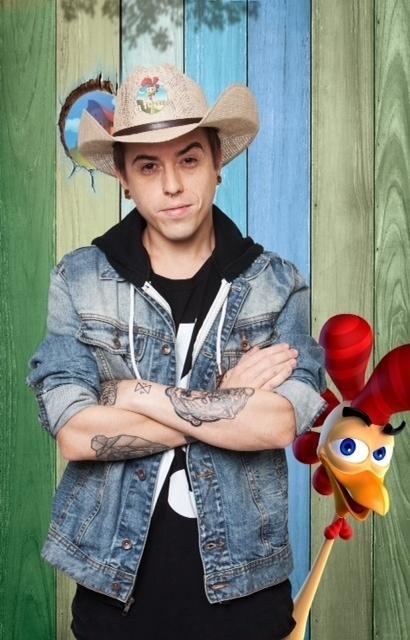14.set.2014 -O cantor Diego DH na estreia de