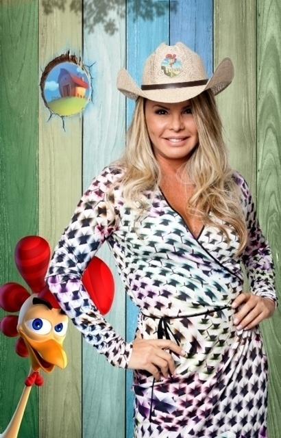 """14.set.2014 - Cristina Mortágua na estreia de """"A Fazenda 7"""""""