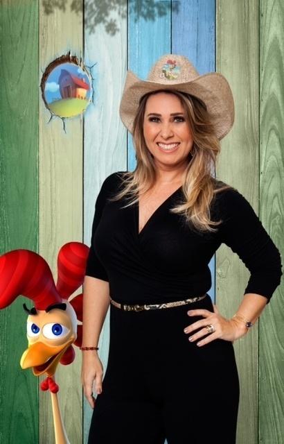 """14.set.2014 - A ex-paquita Andreia Sorvetão na estreia de """"A Fazenda 7"""""""
