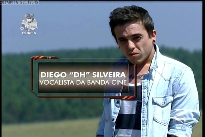 """14.set.2014 - Diego """"DH"""" em """"A Fazenda 7"""""""