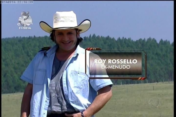 14.set.2014 - Roy Rosseló em