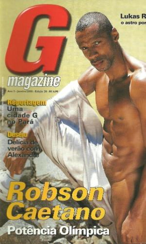 14.set.2012 - Capa da revista G com o atleta Robson Caetano