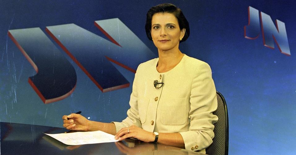 "1996 - Lillian Witte Fibe no ""Jornal Nacional"""