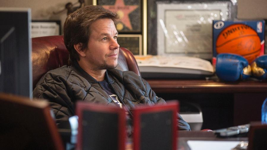 "Mark Wahlberg no reality show ""The Wahlburgers"", do A&E - Divulgação"