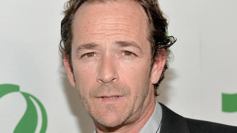 O ator Luke Perry - Getty Images