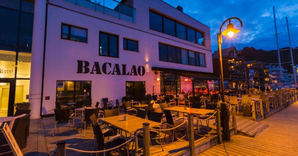 O Bacalao é um dos mais famosos restaurantes de Svolvær, nas ilhas Lofoten