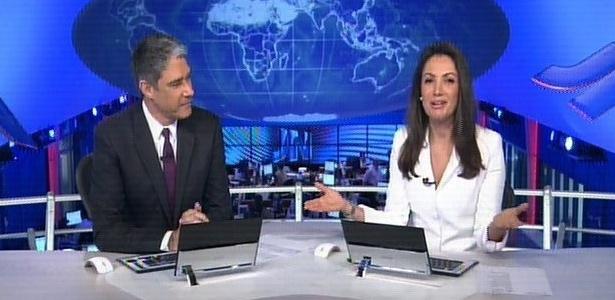 """Patrícia Poeta anuncia ao vivo sua saída do """"Jornal Nacional"""""""