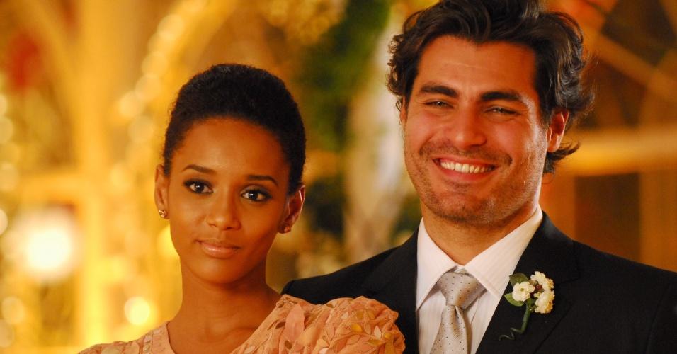 """2009 - Em """"Viver a Vida"""", Taís Araújo interpretou a primeira Helena negra de uma novela de Manoel Carlos"""