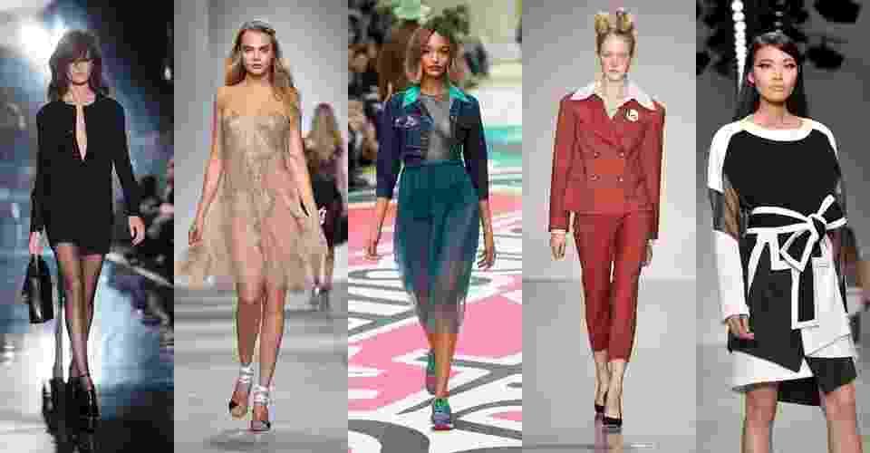 A Semana de Moda de Londres chegou ao fim nesta terça (16). O UOL Moda selecionou alguns dos looks mais interessantes apresentados na temporada Primavera/Verão 2015 - Getty Images