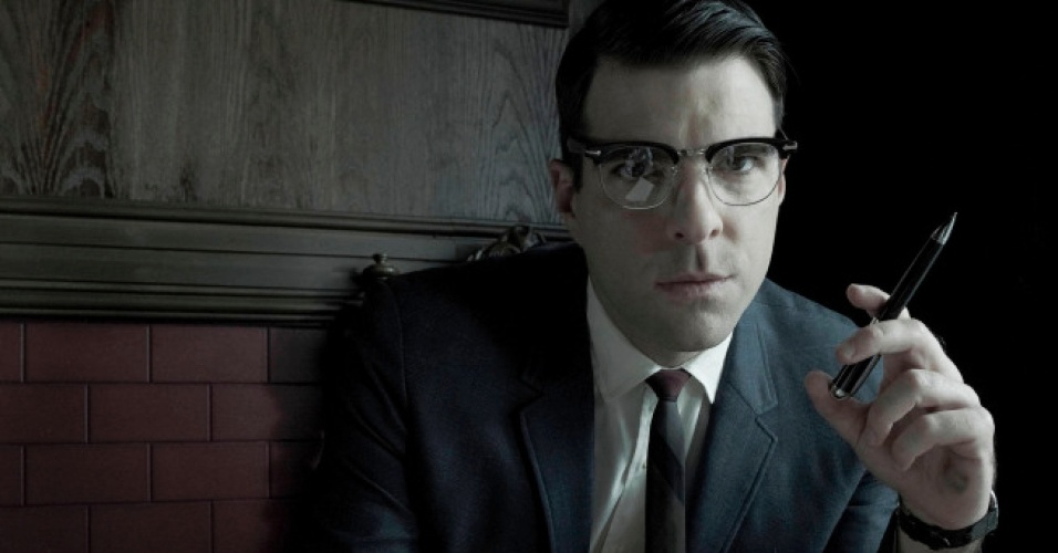 "Bloody Face (Zachary Quinto) na série ""American Horror Story: Asylum"""