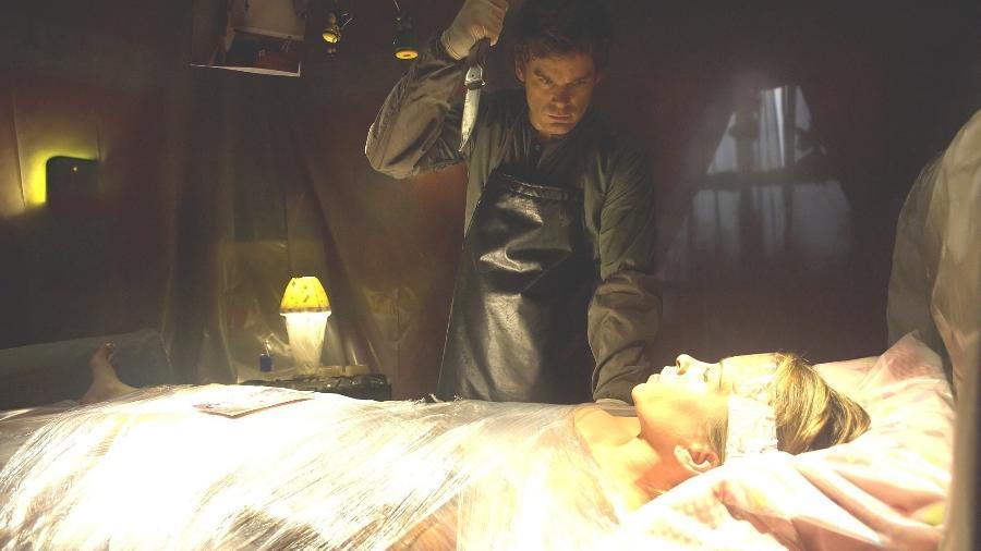 """Dexter Morgan (Michael C. Hall) na série """"Dexter"""" - Divulgação"""