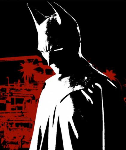 """Arte dos créditos de """"Um Conto De Batman: Na Psicose Do Ventríloquo"""""""