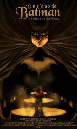 """Cartaz de """"Um Conto De Batman: Na Psicose Do Ventríloquo"""""""