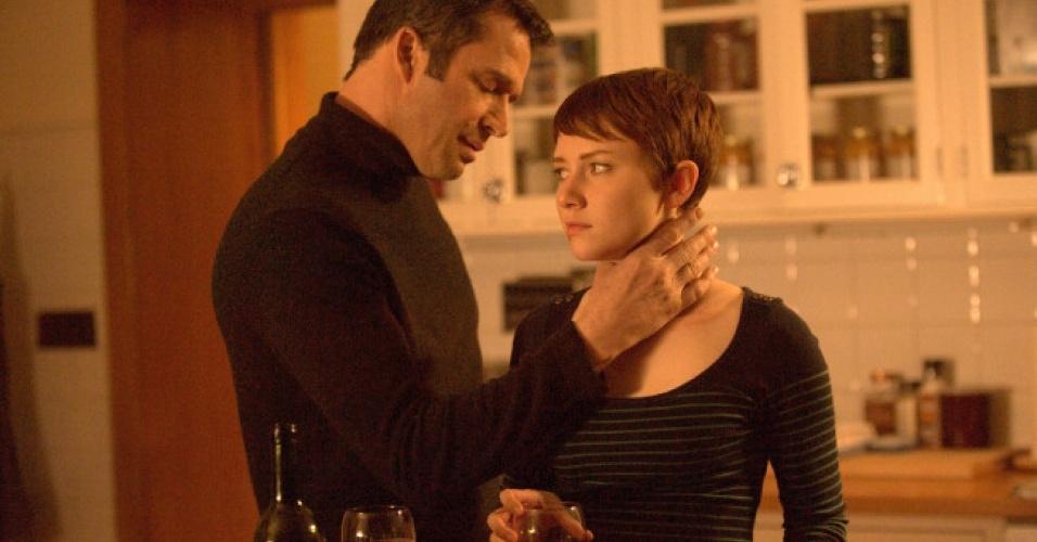 """Joe Carroll (James Purefoy) na série """"The Following"""""""