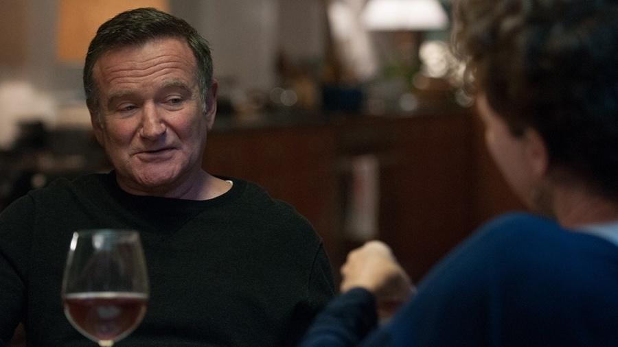 """Robin Williams e Annette Benning em cena de """"Uma Nova Chance Para Amar"""" - Divulgação"""
