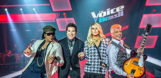 Carlinhos Brown, Daniel, Claudia Leitte e Lulu Santos têm a missão de descobrir talentos