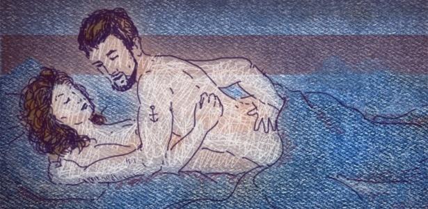 Ponto G masculino fica na próstata e carícias na região podem dar muito prazer - Didi Cunha/UOL