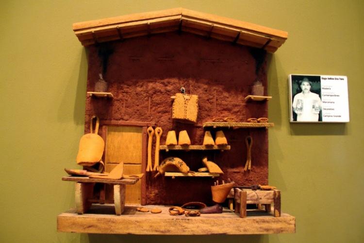 Aparador Grande Para Sala ~ Museu de artesanato em Jo u00e3o Pessoa tem peças em madeira, cer u00e2mica até lata BOL Fotos BOL Fotos