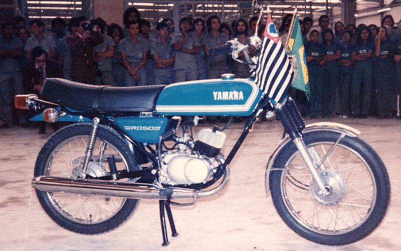 Yamaha RD 50 faz 40 anos