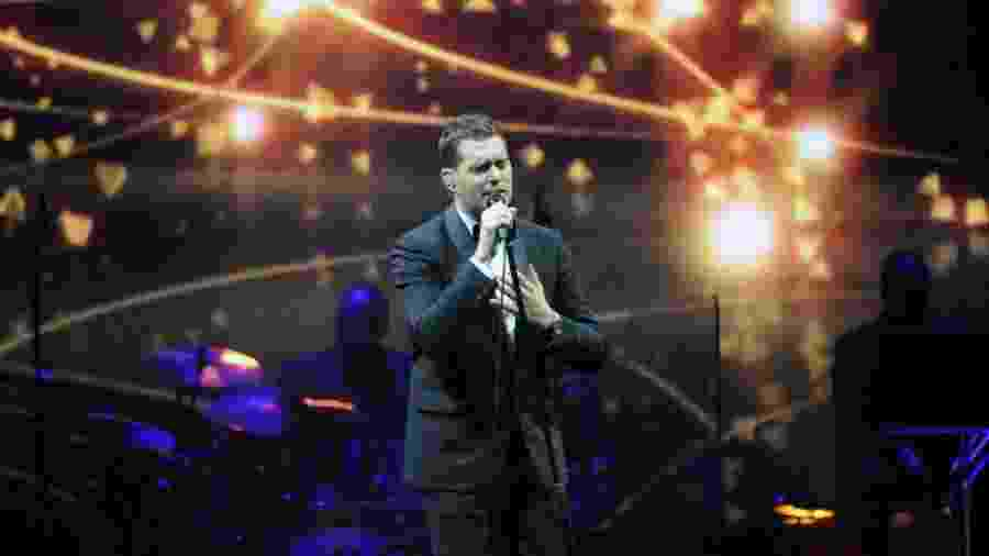 "Michael Bublé já interpretou o clássico ""Baby It""s Cold Outside"" - Alexandre Durao/UOL"
