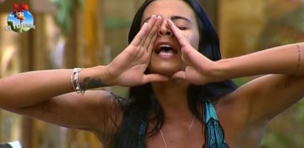 """Lorena discute com Oscar Maroni em uma das brigas mostradas em """"A Fazenda 7"""" nesta quinta (18)"""