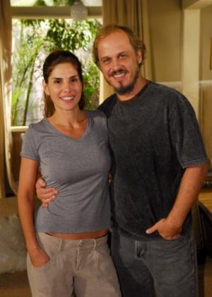 """2008 - Em """"Beleza Pura"""", de Andrea Maltarolli, Guilherme Fontes interpreta Alexandre e formava par com Marcia (Helena Fernades)"""