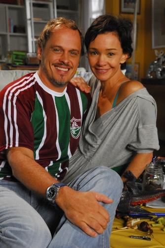 """2009 - Na série """"Tudo Novo de Novo"""", Guilherme Fontes interpretava Paulo, o ex-marido de Clara (Julia Lemmertz)"""