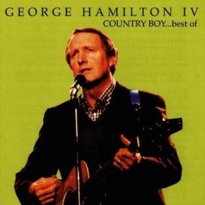 O cantor George Hamilton 4º, em capa de coletânea