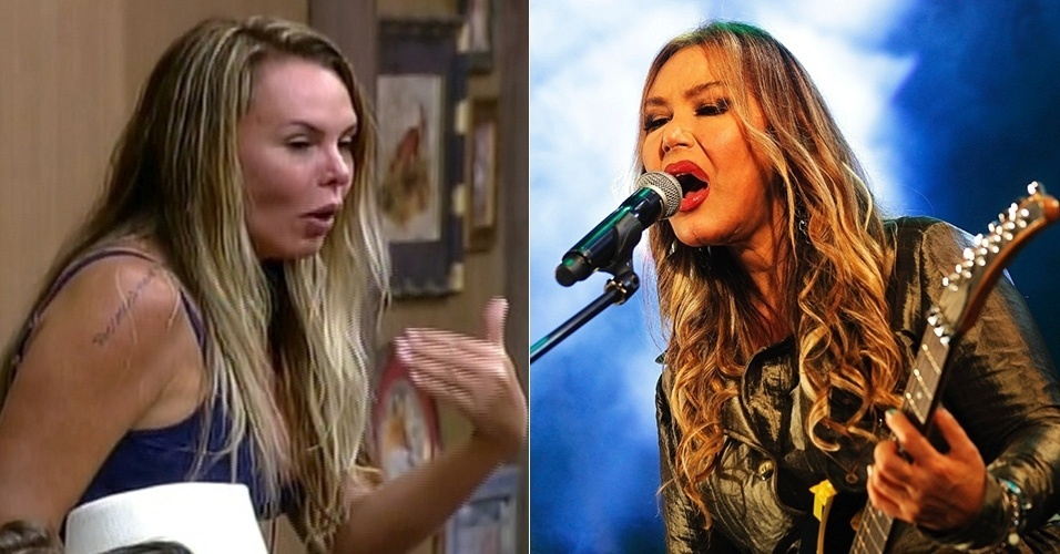 """Cristina Mortágua de """"A Fazenda 7"""" é sósia da cantora Rosanah do hit """"Como Uma Deusa"""""""