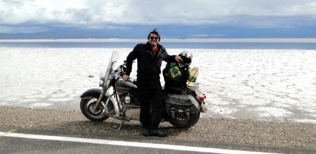 Na Argentina, Rômulo Provetti fez sua estreia internacional sobre duas rodas - Arquivo pessoal