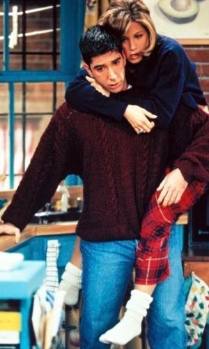 """20 anos de """"Friends"""": cena do episódio """"The One Where Ross Finds Out"""""""