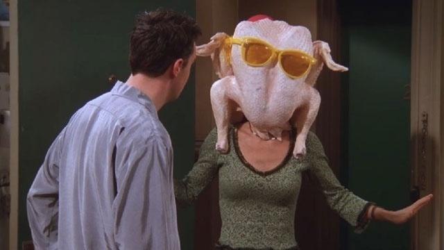 "20 anos de ""Friends"": cena do episódio ""The One With All The Thanksgivings"""