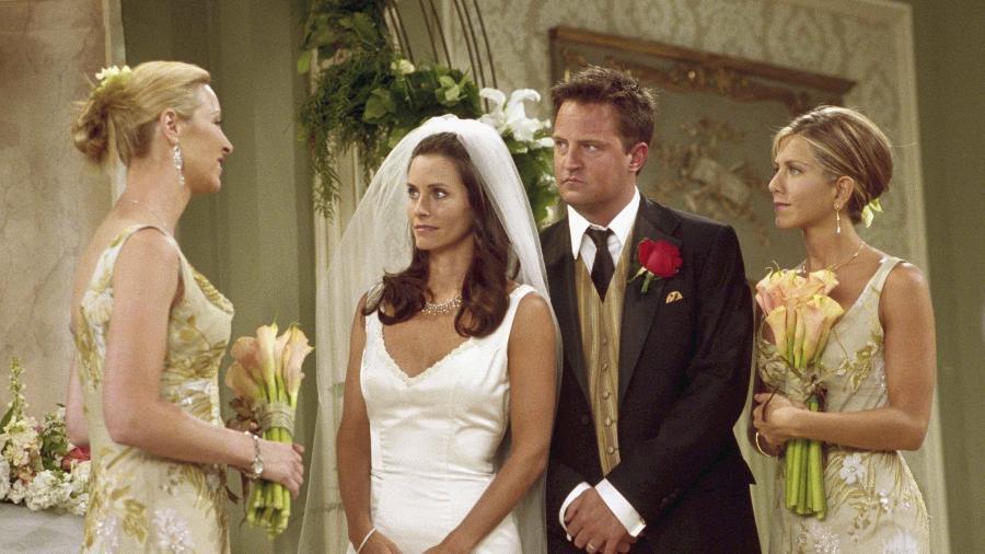"""Cena do episódio """"The One With Monica and Chandler""""s Wedding"""" - Reprodução"""