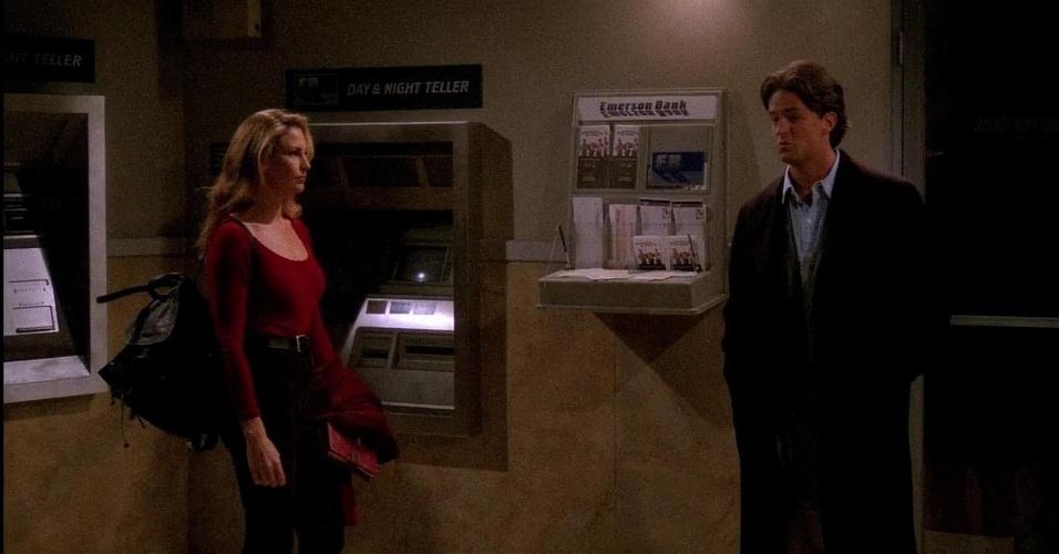 """20 anos de """"Friends"""": cena do episódio """"The One With The Blackout"""""""