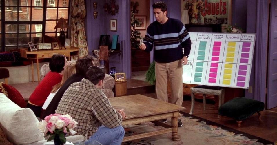 """20 anos de """"Friends"""": cena do episódio """"The One With The Embryos"""""""