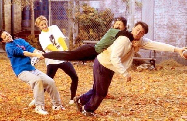 """20 anos de """"Friends"""": cena do episódio """"The One With The Football"""""""