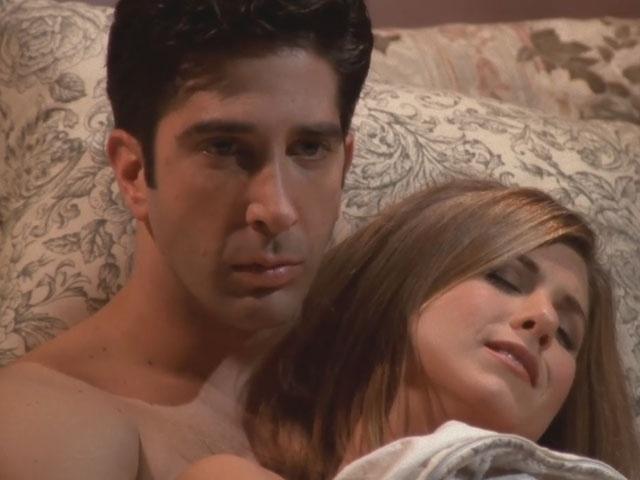 """20 anos de """"Friends"""": Ross e Rachel no episódio """"The One With The Jellyfish"""""""
