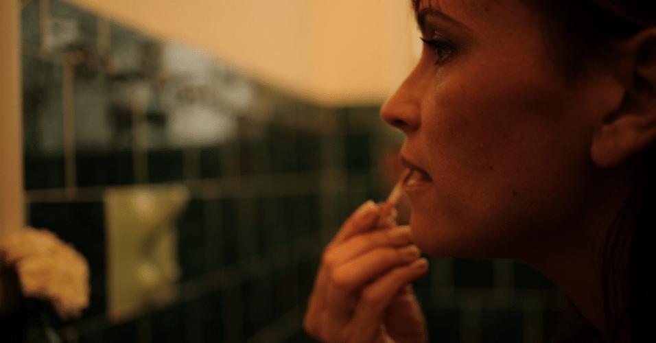 """Ana Paula é outra mulher que não se intimidou e se deixou clicar pelo fotógrafo Jorge Bispo para a série """"302"""", que estreia neste sábado, no Canal Brasil"""