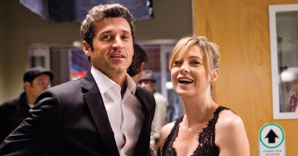 """Cena da série """"Grey's Anatomy"""""""