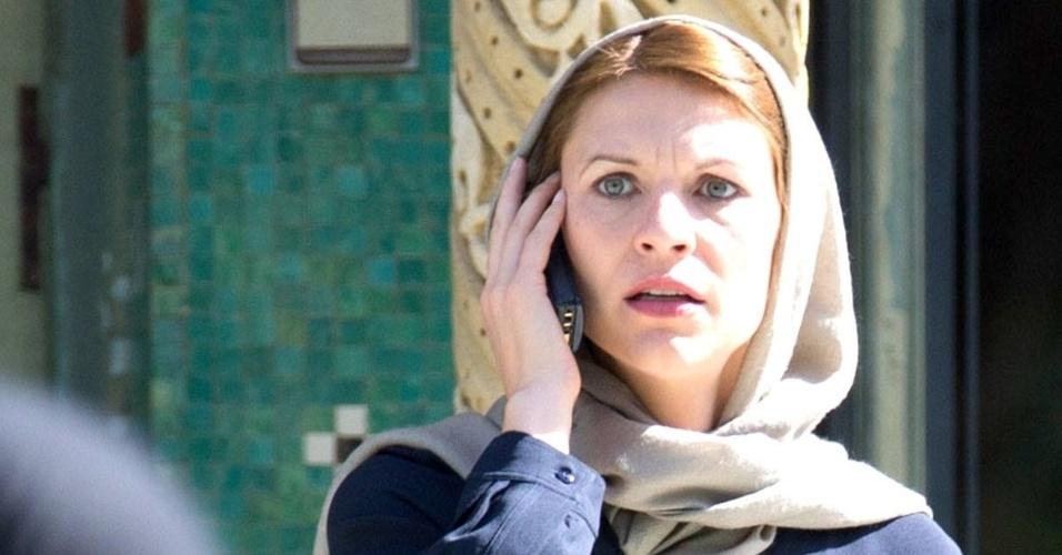 """Claire Danes na terceira temporada de """"Homeland"""""""