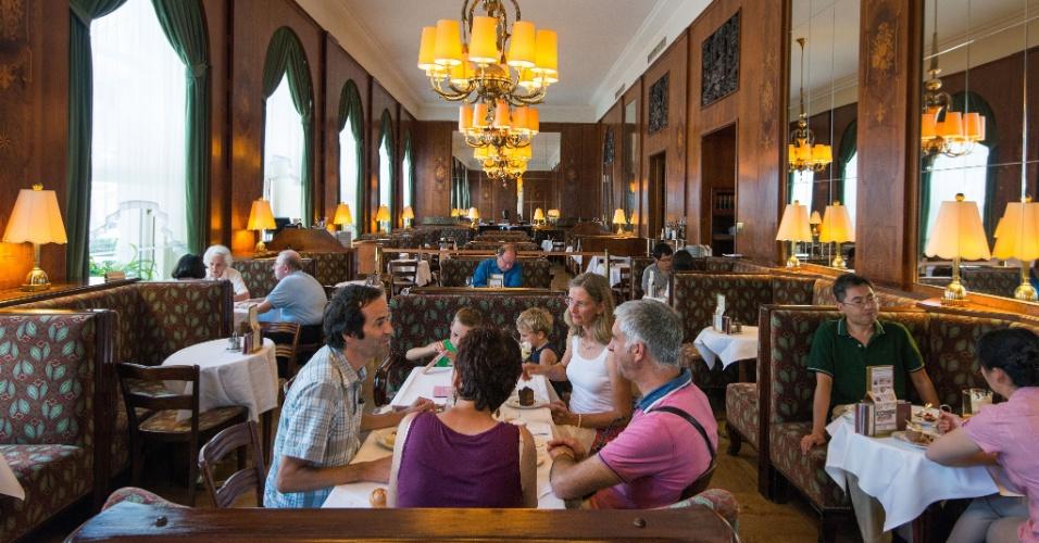 Como todo vienense que se prezasse, Freud tinha seu café favorito, o Landtmann, ainda um dos mais requintados exemplos das cafeterias clássicas da cidade