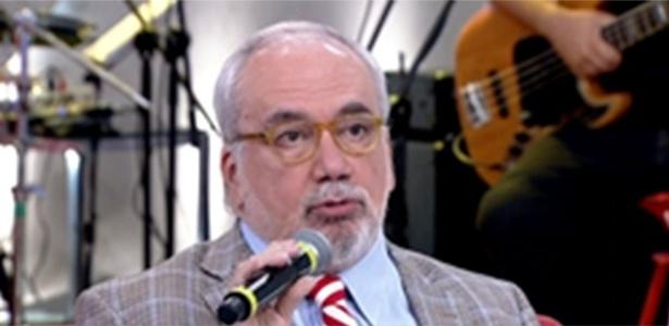 """O psicanalista Francisco Daudt no programa """"Encontro com Fátima Bernardes"""""""