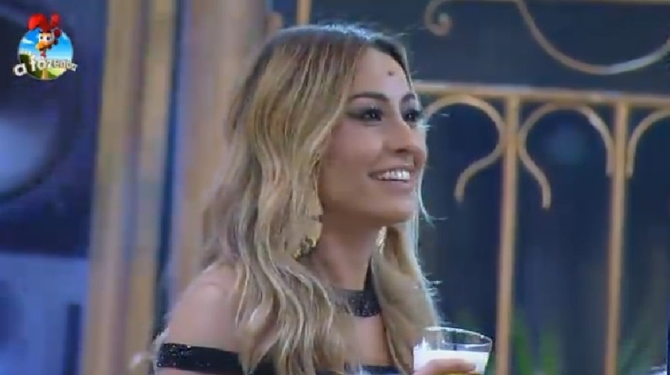 "Sabrina Sato participa da primeira festa de ""A Fazenda 7"""