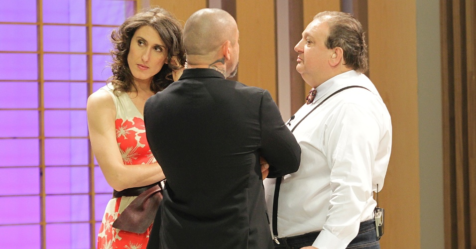 """12.set.2014 - A argentina Paola Carosella é considerada uma das mais exigentes dentro dos bastidores do """"Masterchef"""""""
