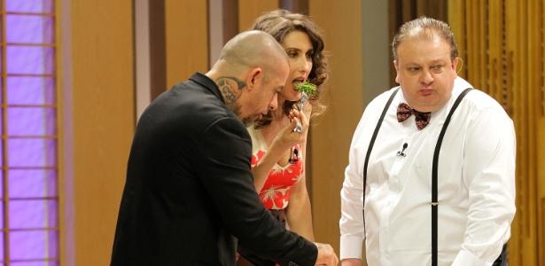 """Fogaça, Paola e Jacquin, jurados do """"MasterChef"""" - Reinaldo Canato/UOL"""