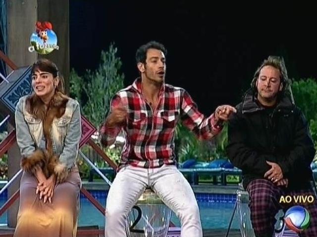 """22.set.2014 - Heloisa Faissol, Diego Cristo e Roy Rosselló são indicados para a primeira roça de """"A Fazenda 7"""""""