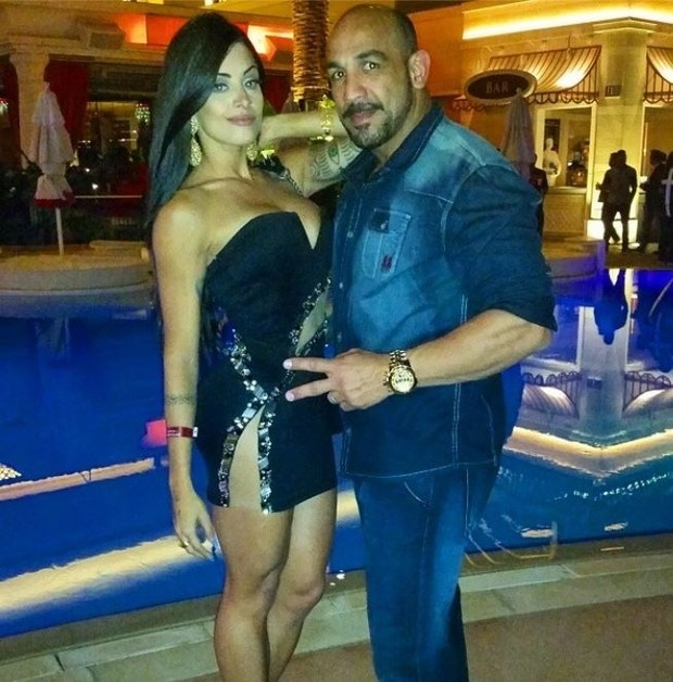Aline e o marido Rodrigo Riscado estão em Las Vegas curtindo alguns dias de férias. Na volta, a bailarina quer tocar seus projetos pessoais