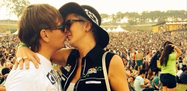 Drico Mello e Bruna Tang são casados há 10 anos. Eles têm uma banda, a Undershower