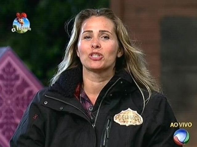 """22.set.2014 - Andréia Sorvetão indica Diego Cristo para a primeira roça de """"A Fazenda 7"""""""